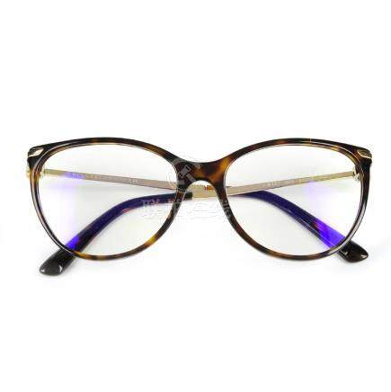 BULGARI - a pair of prescription glasses. Designed with