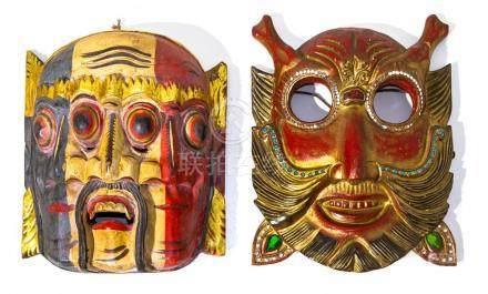 Pair of masks - Indonesia.