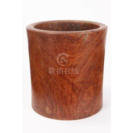 Good Chinese Huanghuali Scroll Pot,