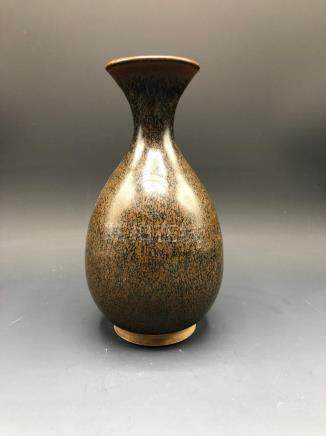 China, Brown Glaze Mei Ping Vase