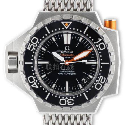 Omega. A very nice and important Omega Seamaster