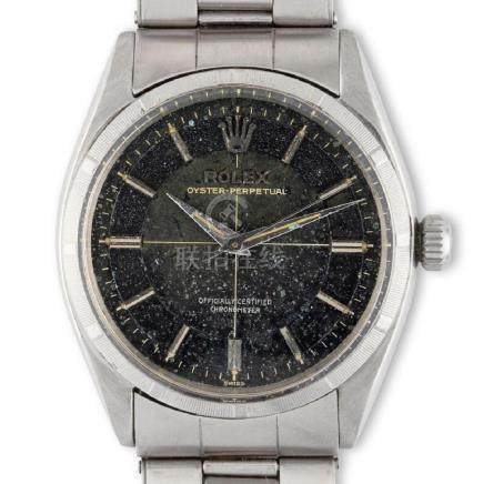 Rolex. A fascinating Rolex reference 6565 in stainless