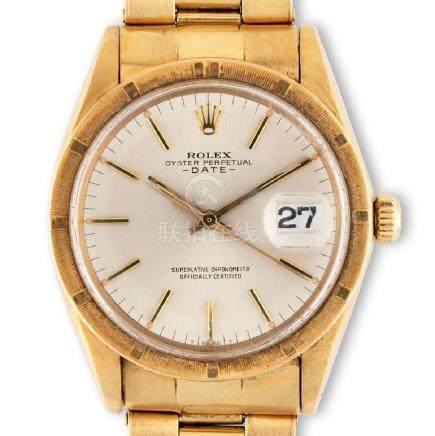 Rolex. A fine and attractive Rolex Date, reference 1501