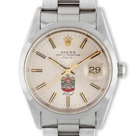 Rolex. An extremely rare, highly attractive and