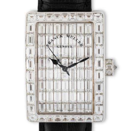 Franck Muller. An absolutely precious and particular