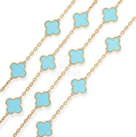VAN CLEEF & ARPELS. Very desirable yellow gold and