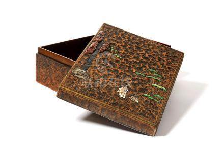 BUNKO (boîte de documents) en cèdre naturel…