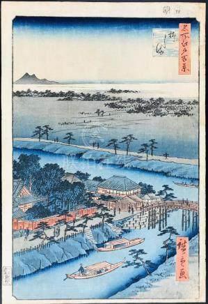 HIROSHIGE. Yanagishima.