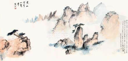 薛慧山  黃山奇峰