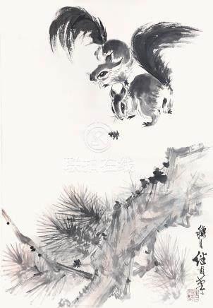 劉繼鹵  松鼠