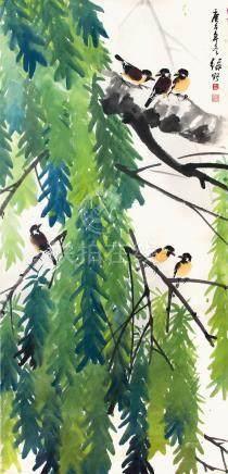 葉綠野  林陰棲禽
