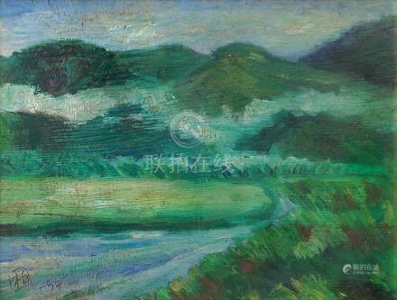 郭柏川  風景