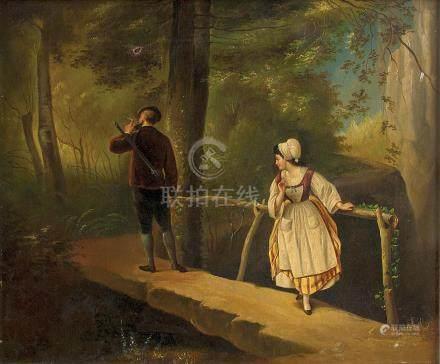 十九世紀‧佚名  小橋