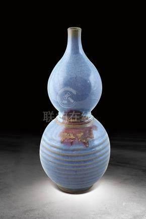 明  鈞窯葫蘆瓶