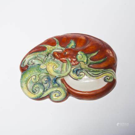 A Chinese Famille-Rose Porcelain Palette
