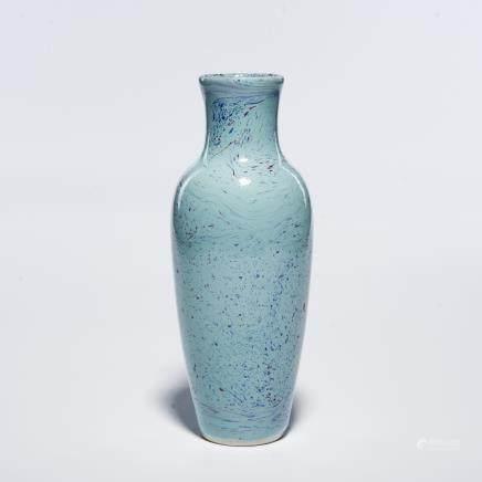 A Chinese Flambé Porcelain Vase