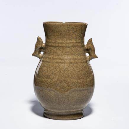 A Chinese Guan-Type Porcelain Vase