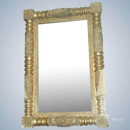 Italian Federal Mirror Carved Early 19th Century