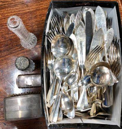 Hanoverian rat-tail flatware and cutlery