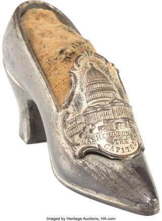 56004: A Washington, D. C. Souvenir Gilt Silver-Plated