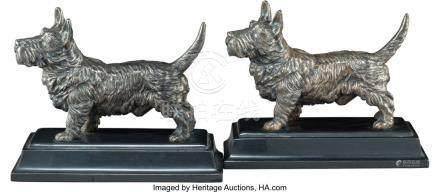 56022: A Pair of Jennings Brothers Metal Scottish Terri