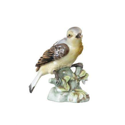 Bird in porcelain