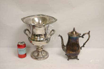 2 piece silverplate