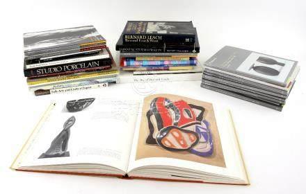 Twenty One Books or Catalogues on Japanese Mingei, Studio or Contemporary Ceramics, including; 'Folk