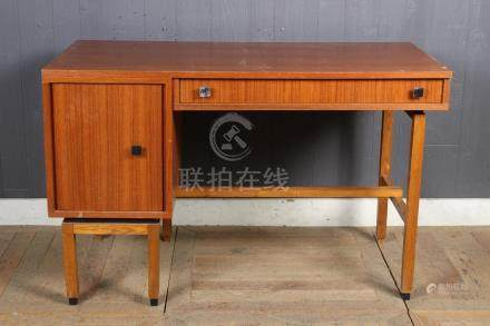 Belgian Labeled Mid Century Modern Desk