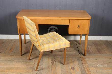 Robsjohn-Gibbings for Widdicomb Desk and Chair