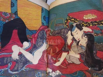 EROTISME / SHUNGA / Japon - d'après UTAGAWA...