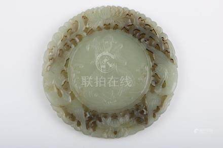 Chinese Qing Dynasty Hetian Jade