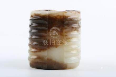Chinese Zhanguo Period Hetian Jade