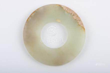 Chinese Han Dynasty White Jade