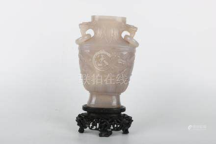 Chinese Agate Bottle