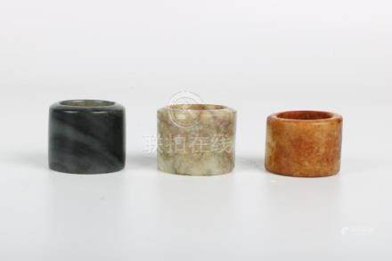 Chinese Set Of Thumb Rings