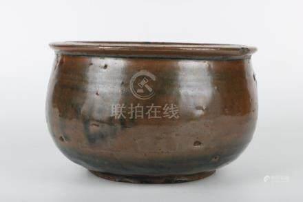 Chinese Qing Dynasty Porcelain Zijin Pot