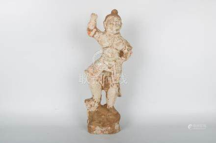 Chinese Pottery Statue