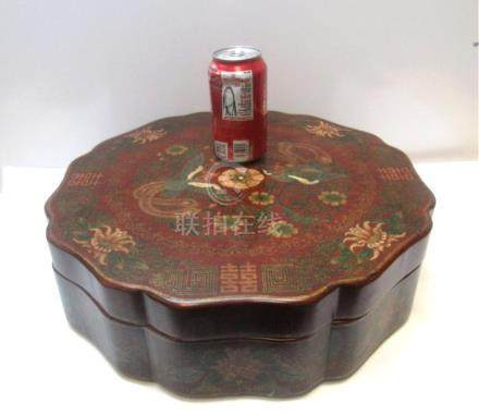 20th Century Qing Dynasty Chinese Box ,