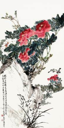 吴平-牡丹兰蝶