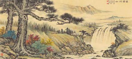 黄君璧-锦绣河山