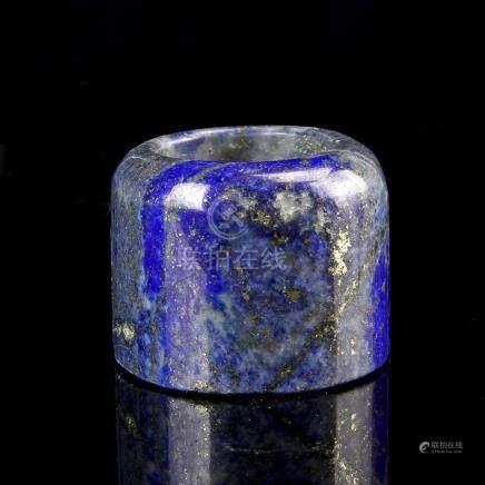 Chinese Lapis Lazuli Thumb Ring