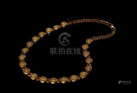 Chinese Buddhist Prayer Beads Necklace