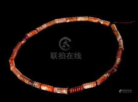 Chinese Jade Beads Necklace