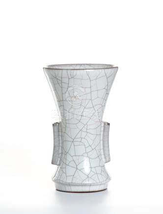 Chinese Ge Type Beaker Vase