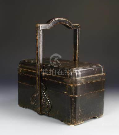 Chinese Box Wood Lunch Box