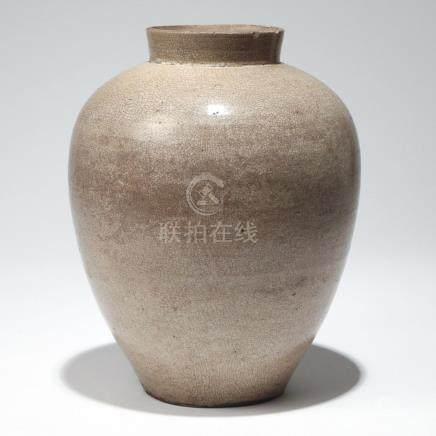 EARLY CHINESE GLAZED STONEWARE JAR