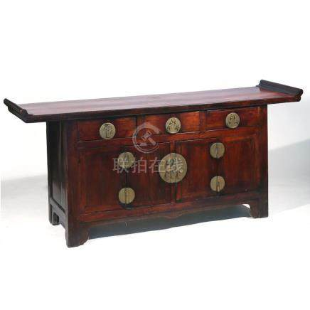 CHINESE ROSEWOOD COFFER
