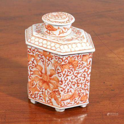 CHINESE REPUBLIC PERIOD TEA CANNISTER