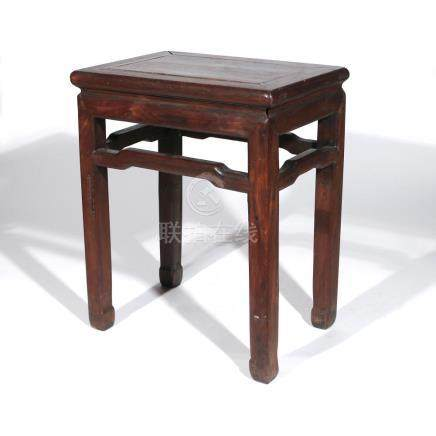 CHINESE HONGMU SIDE TABLE / STOOL